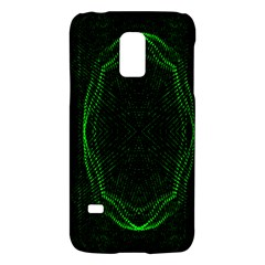 Green Foam Waves Polygon Animation Kaleida Motion Galaxy S5 Mini by Mariart