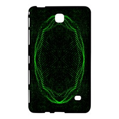 Green Foam Waves Polygon Animation Kaleida Motion Samsung Galaxy Tab 4 (8 ) Hardshell Case  by Mariart