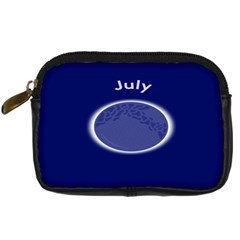 Moon July Blue Space Digital Camera Cases by Mariart