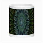 Peaceful Flower Formation Sparkling Space Night Luminous Mugs Center