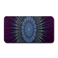 Peaceful Flower Formation Sparkling Space Medium Bar Mats by Mariart