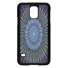 Peaceful Flower Formation Sparkling Space Samsung Galaxy S5 Case (black) by Mariart