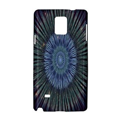 Peaceful Flower Formation Sparkling Space Samsung Galaxy Note 4 Hardshell Case by Mariart