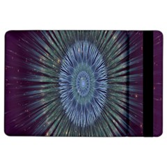 Peaceful Flower Formation Sparkling Space Ipad Air 2 Flip by Mariart
