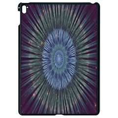 Peaceful Flower Formation Sparkling Space Apple Ipad Pro 9 7   Black Seamless Case by Mariart