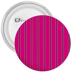 Pink Line Vertical Purple Yellow Fushia 3  Buttons