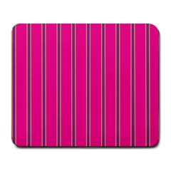 Pink Line Vertical Purple Yellow Fushia Large Mousepads