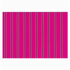 Pink Line Vertical Purple Yellow Fushia Large Glasses Cloth by Mariart
