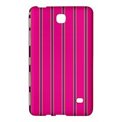 Pink Line Vertical Purple Yellow Fushia Samsung Galaxy Tab 4 (8 ) Hardshell Case  by Mariart