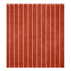 Line Vertical Orange Shower Curtain 66  X 72  (large)  by Mariart