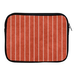 Line Vertical Orange Apple Ipad 2/3/4 Zipper Cases by Mariart