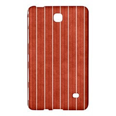 Line Vertical Orange Samsung Galaxy Tab 4 (7 ) Hardshell Case  by Mariart