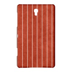 Line Vertical Orange Samsung Galaxy Tab S (8 4 ) Hardshell Case  by Mariart