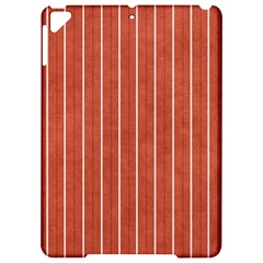 Line Vertical Orange Apple Ipad Pro 9 7   Hardshell Case by Mariart