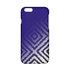 Plaid Blue White Apple Iphone 6/6s Hardshell Case by Mariart
