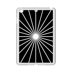 Ray White Black Line Space Ipad Mini 2 Enamel Coated Cases by Mariart