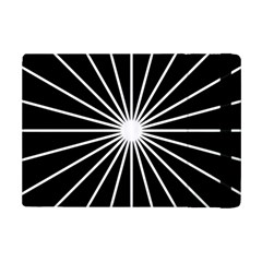 Ray White Black Line Space Ipad Mini 2 Flip Cases by Mariart