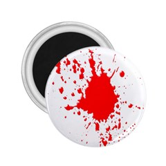 Red Blood Splatter 2 25  Magnets by Mariart