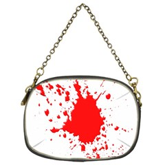 Red Blood Splatter Chain Purses (one Side)
