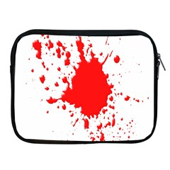Red Blood Splatter Apple Ipad 2/3/4 Zipper Cases by Mariart