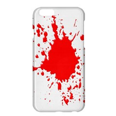 Red Blood Splatter Apple Iphone 6 Plus/6s Plus Hardshell Case by Mariart