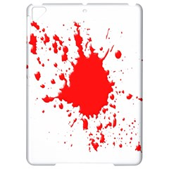 Red Blood Splatter Apple Ipad Pro 9 7   Hardshell Case by Mariart