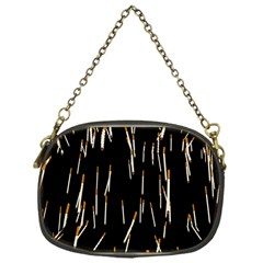Rain Cigarettes Transparent Background Motion Angle Chain Purses (one Side)