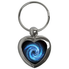Hole Space Galaxy Star Planet Key Chains (heart)  by Mariart