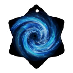 Hole Space Galaxy Star Planet Ornament (snowflake)
