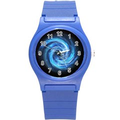 Hole Space Galaxy Star Planet Round Plastic Sport Watch (s) by Mariart
