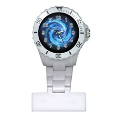 Hole Space Galaxy Star Planet Plastic Nurses Watch