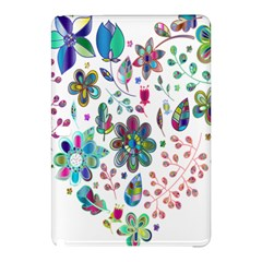 Prismatic Psychedelic Floral Heart Background Samsung Galaxy Tab Pro 10 1 Hardshell Case by Mariart