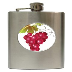 Red Fruit Grape Hip Flask (6 Oz) by Mariart
