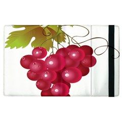 Red Fruit Grape Apple Ipad 3/4 Flip Case by Mariart