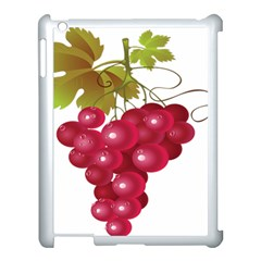 Red Fruit Grape Apple Ipad 3/4 Case (white) by Mariart