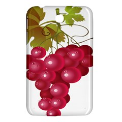 Red Fruit Grape Samsung Galaxy Tab 3 (7 ) P3200 Hardshell Case  by Mariart