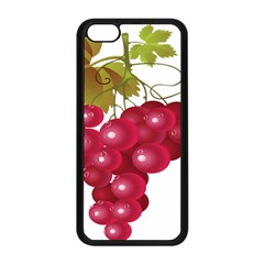 Red Fruit Grape Apple Iphone 5c Seamless Case (black) by Mariart