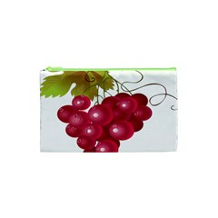 Red Fruit Grape Cosmetic Bag (xs) by Mariart