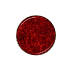 Simulation Red Water Waves Light Hat Clip Ball Marker
