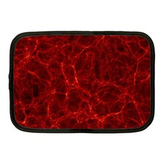 Simulation Red Water Waves Light Netbook Case (medium)  by Mariart