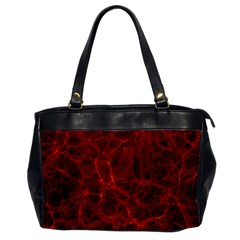 Simulation Red Water Waves Light Office Handbags by Mariart