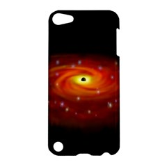 Space Galaxy Black Sun Apple Ipod Touch 5 Hardshell Case by Mariart