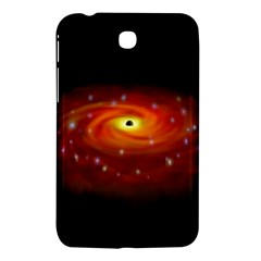 Space Galaxy Black Sun Samsung Galaxy Tab 3 (7 ) P3200 Hardshell Case  by Mariart