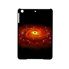 Space Galaxy Black Sun Ipad Mini 2 Hardshell Cases by Mariart