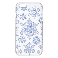 Snowflakes Blue White Cool Iphone 6 Plus/6s Plus Tpu Case by Mariart