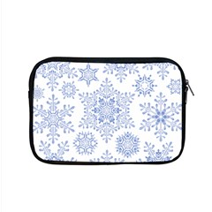 Snowflakes Blue White Cool Apple Macbook Pro 15  Zipper Case by Mariart