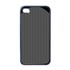 Space Line Grey Black Apple Iphone 4 Case (black) by Mariart