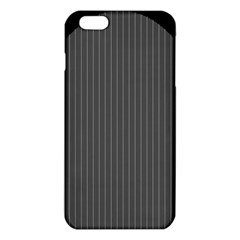 Space Line Grey Black Iphone 6 Plus/6s Plus Tpu Case by Mariart