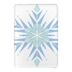 Snowflakes Star Blue Triangle Samsung Galaxy Tab Pro 10 1 Hardshell Case by Mariart