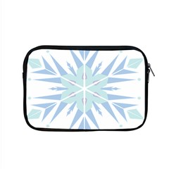 Snowflakes Star Blue Triangle Apple Macbook Pro 15  Zipper Case by Mariart